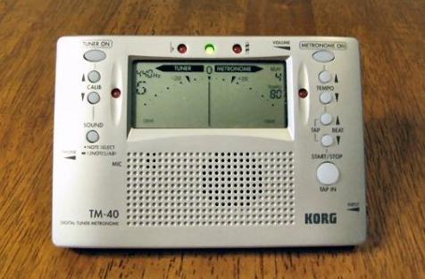 Korg TM-40 Electronic Tuner Metronome