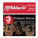 D'Addario EJ17 Phosphor Bronze Guitar Strings