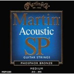 Martin MSP4200 SP Phosphor Bronze Guitar Strings