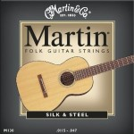 Martin M130 Silk And Steel Folk Guitar Strings