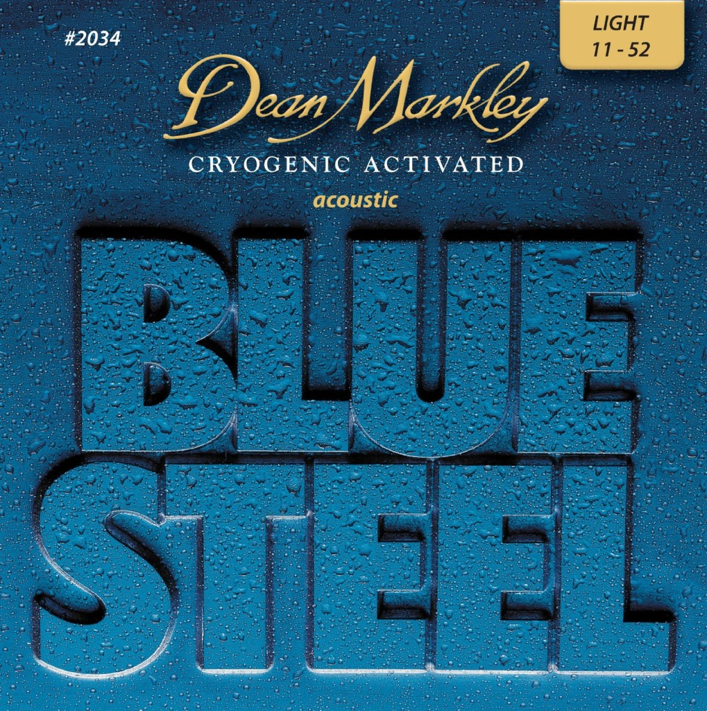 Dean Markley Blue Steel LT 2034 Acoustic Guitar Strings
