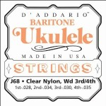 D'Addario Baritone Ukulele Strings