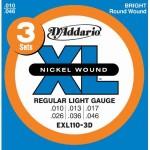 D'Addario EXL110-3D Electric Guitar Strings