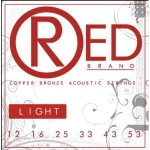 Everly Red Brand Acoustic Guitar Strings
