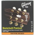 Gibson Masterbuilt Premium Phosphor Bronze Acoustic Guitar Strings