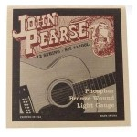 John Pearse 12 String Phosphor Bronze Light Guage